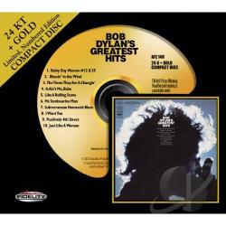 Dylan, Bob - Bob Dylan's Greatest Hits CD Cover Art