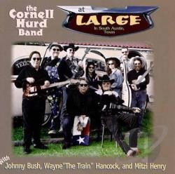 Hurd, Cornell Band - At Large CD Cover Art