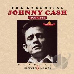 Cash, Johnny - Essential Johnny Cash (1955-1983) CD Cover Art