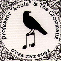 Professor Louie - Over the Edge CD Cover Art