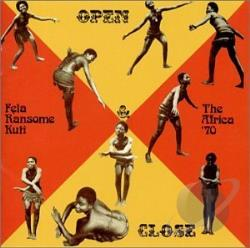 Kuti, Fela - Open & Close/Afrodisiac CD Cover Art