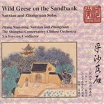 Nian-Bing Zhang - Wild Geese On The Sandbank: Sanxian And Ruan Solos DB Cover Art