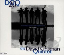 Grisman, David (Quintet) - DGQ-20 CD Cover Art