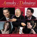 Arensky / Bailey / Dohnanyi / Harrell - Arensky, Dohynanyi: Live from El Paso Pro-Musica January 7 2006 CD Cover Art