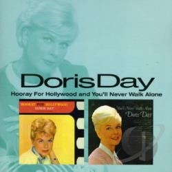 Day, Doris - Hooray For Hollywood / You'll Never Walk Alone CD Cover Art