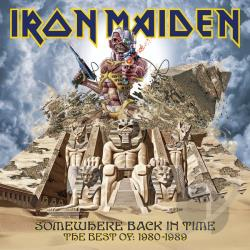 Iron Maiden - Somewhere Back in Time: The Best of 1980-1989 CD Cover Art