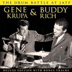 Gene Krupa & Buddy Rich / Krupa, Gene / Rich, Buddy - Drum Battle At JATP CD Cover Art