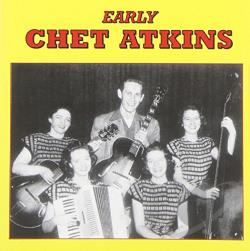 Atkins, Chet - Early Chet Atkins CD Cover Art