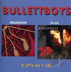 Bulletboys - Freakshow/Za-Za CD Cover Art