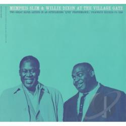 Dixon, Willie / Memphis Slim / Seeger, Pete - Pete Seeger at the Village Gate with Memphis Slim & Willie Dixon CD Cover Art