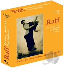 Bamberger Symphoniker / Raff / Stadlmair - Raff: The Symphonies; The Suites for Orchestra; Overtures CD Cover Art