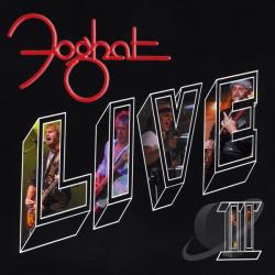 Foghat - Live II CD Cover Art