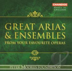 Great Operatic Arias & Ensembles 3 - Great Arias and Ensembles from Your Favorite Operas CD Cover Art