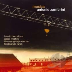 Zambrini, Antonio - Musica CD Cover Art