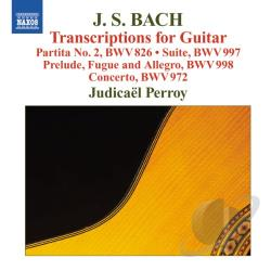 Bach, Johann Sebastian / Perroy - Bach: Transcriptions for Guitar CD Cover Art