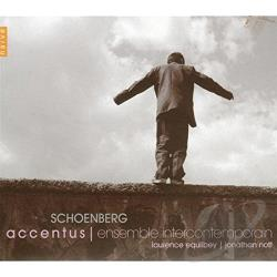 Ensemble Intercontemprain / Nott / Schoenberg - Schoenberg CD Cover Art