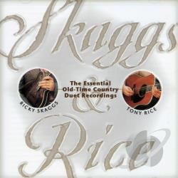 Rice, Tony / Skaggs, Ricky - Skaggs & Rice CD Cover Art