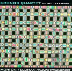 Kronos Quartet / Takahashi, Aki - Morton Feldman: Piano and String Quartet CD Cover Art