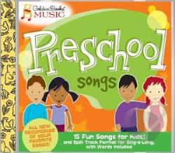 Music, Golden Books - Preschool Songs CD Cover Art