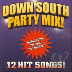 Down South Party Mix CD Cover Art