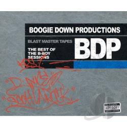Boogie Down Productions - Blast Master Tapes: Best of the B-Boy Sessions CD Cover Art
