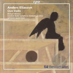 Eliasson - Anders Eliasson: Quo Vadis CD Cover Art