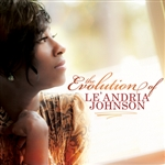 Johnson, Le'andria - Evolution of Le'andria Johnson CD Cover Art
