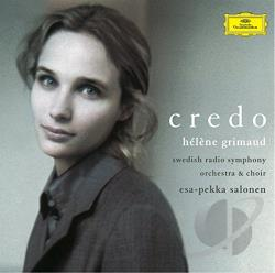 Grimaud / Salonen / Srso / Swrc - Credo CD Cover Art