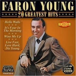 Young, Faron - 20 Greatest Hits CD Cover Art