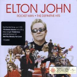 John, Elton - Rocket Man: The Definitive Hits CD Cover Art
