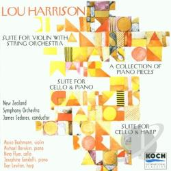 Bachman / Flyer / Harrison / Levitan / Sedares - Lou Harrison: Suite for Violin with String Orchestra; Suite for Cello & Harp CD Cover Art
