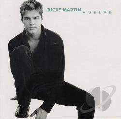 Martin, Ricky - Vuelve CD Cover Art