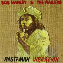 Marley, Bob & The Wailers - Rastaman Vibration CD Cover Art