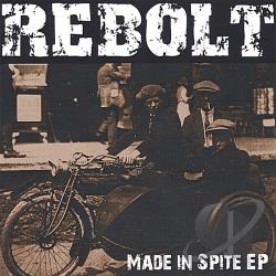 Rebolt - Made In Spite EP CD Cover Art
