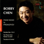 Chen, Bobby:pno - Piano Music by Prokofiev CD Cover Art