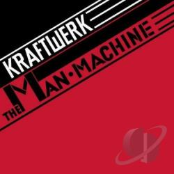 Kraftwerk - Man Machine CD Cover Art