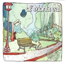 Of Montreal - Bedside Drama: A Petite Tragedy LP Cover Art