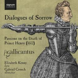 Coprario / Cranford / Ramsey / Ward - Dialogues of Sorrow CD Cover Art