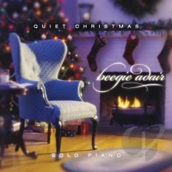 Adair, Beegie - Quiet Christmas: Solo Piano CD Cover Art