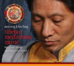 Khechog, Nawang - Tibetan Meditation Music CD Cover Art