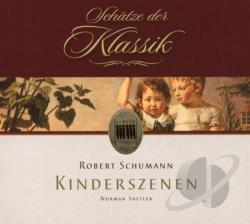 Shetler (pno - Robert Schumann: Kinderszenen CD Cover Art