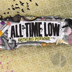 All Time Low - Nothing Personal CD Cover Art