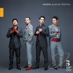 Onslow, G. / Quatuor Diotima - George Onslow: String Quartets, Opp. 54, 55 & 56 CD Cover Art