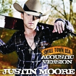 Moore, Justin  - Small Town USA (Acoustic Version) DB Cover Art