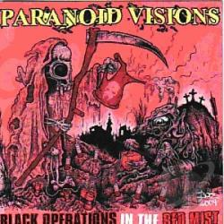 Paranoid Visions - Black Operations in the Red Mist CD Cover Art