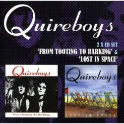 Quireboys - Tooting to Barking C/W Lost in Space CD Cover Art