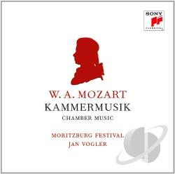 Mozart / Vogler, Jan - W.A. Mozart: Kammermusik CD Cover Art