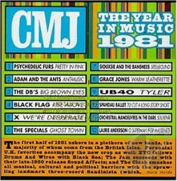 CMJ: The Year In Music 1981 CD Cover Art