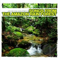 Johan Dalgas Frisch - Songs From The Amazon Rain Forest CD Cover Art