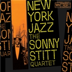 Stitt, Sonny - New York Jazz CD Cover Art